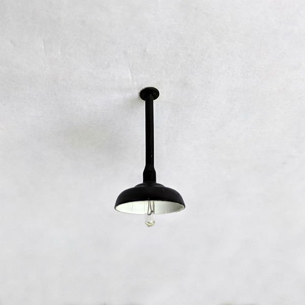 Ceiling Drop Down Lamp Light For O Scale Model Train