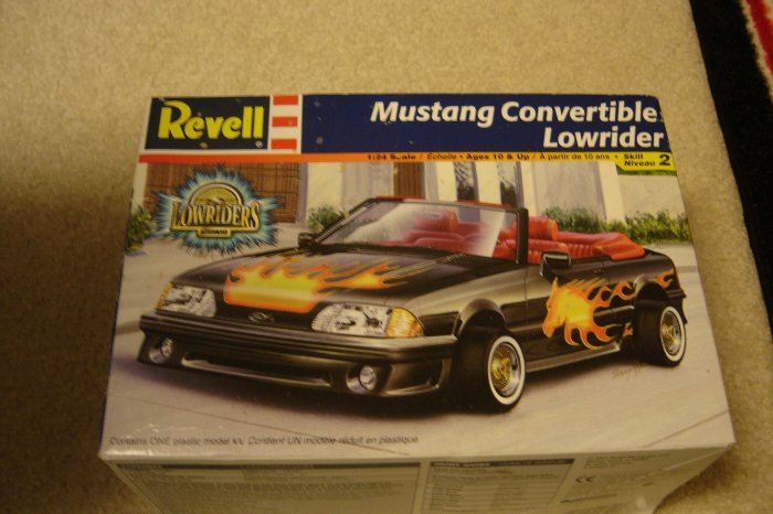 Revell Mustang Convertible Lowrider