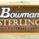 2008 Bowman Sterling Football Hobby 8 Box Case