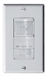Control Fans Heaters A/cs with a Motion Activated Wall Switch