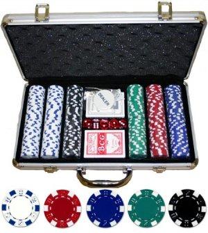 300 piece 11.5 gram Dice Poker Set