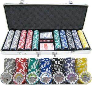 13.5g 500pc Casino Royale Clay Poker Chip Set