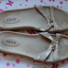 Izod Flip Flop Tan Sandals Mens Size 11 Womens Size 12 Shoes