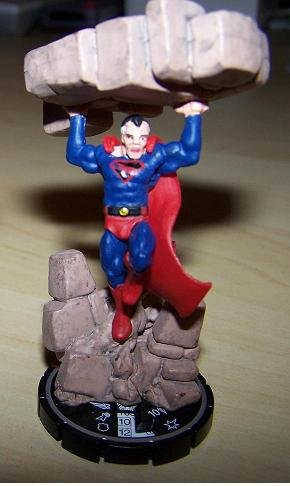 Heroclix Chase Hypertime Superman from Crisis