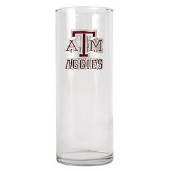 "NCAA 9"""" Flower Vase - Texas A&M"