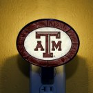 Art-Glass Nightlight - Texas A&M