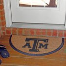 Half Moon Door Mat - Texas A&M