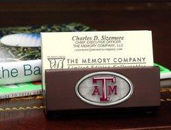 Business Card Holder - Texas A&M