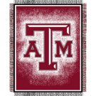 "Triple Woven Jacquard NCAA Throw - 48""""x60"""" - Texas A&M"
