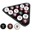 Officially Licensed Billiard Balls - Texas A&M
