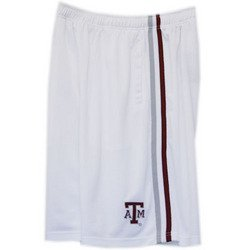 Basketball Mesh Shorts - White - L - Texas A&M