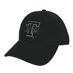 Campus Fitted Cap - Black - L - Texas A&M