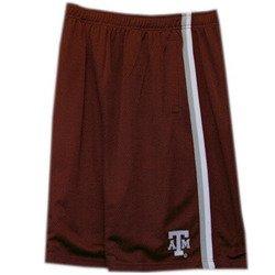 Basketball Mesh Shorts - Maroon - L - Texas A&M