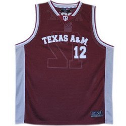 Basketball Jersey - Maroon - L - Texas A&M