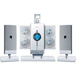 4-CD Hi-Fi Audio System With iPod® Docking Station - White - iLuv