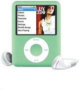 8 GB iPod Nano with Video - Green - Apple
