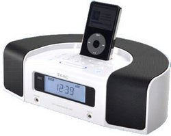 Hi-Fi Radio w/ iPod Dock - White - TEAC