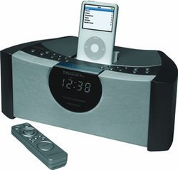 iPod Stereo Clock Radio - Emerson