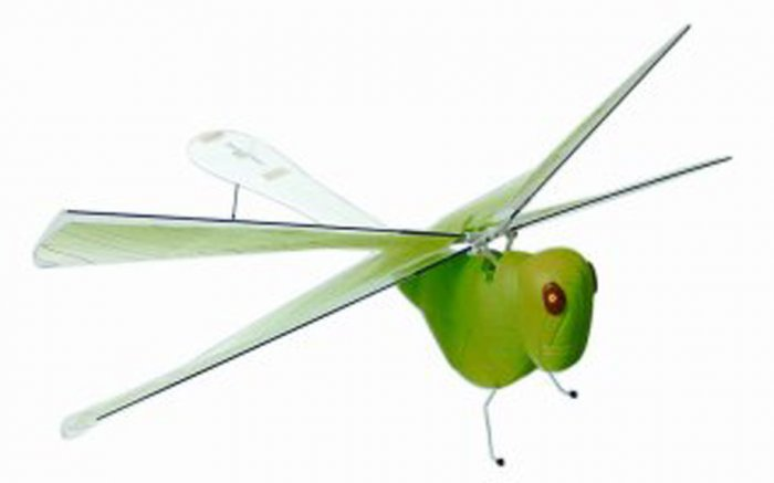 Insect Grasshopper Winged Fly Helicopter - Microgear