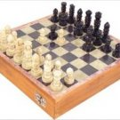 Carved Soapstone 8-in. Chess Set