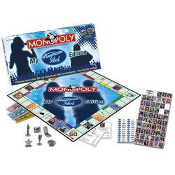 My American Idol Monopoly - USAopoly