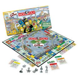 The Simpsons: Collector's Edition Monopoly - USAopoly
