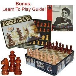 Kasparov Tin Chess Set
