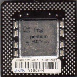 Intel Pentium 1 with MMX