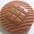 Big Vintage Pink Plastic Celluloid Button.