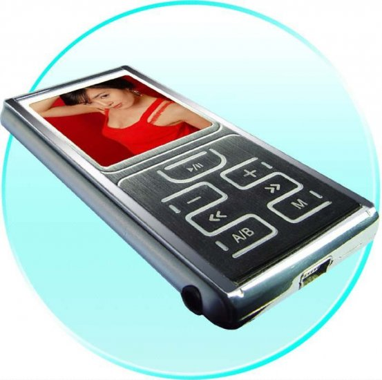2GB MP4 Protable Media Player- 7 button Interface