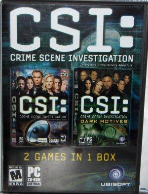 CSI: Dark Motives Double Pack for Windows