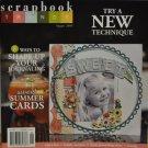 Scrapbook Trends August 2009
