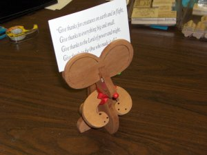 Recipe Mouse Holder