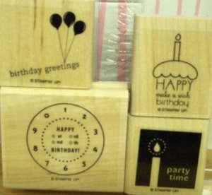 Stampin Up Time to Party