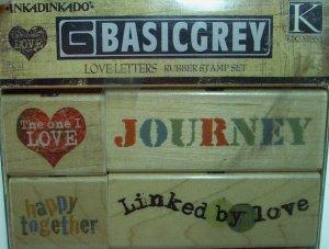 Basic Grey Love Letters