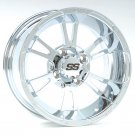 ITP SS112 14 INCH CHROME RIMS SET OF (4)