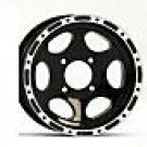 ITP TYPE7 12 INCH BLACK RIMS SET OF (4)