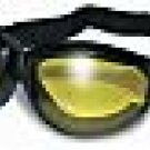 ELIMINATOR GOGGLES GLOBAL VISION BLK FRAME YELLOW LENS