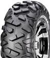 "25"" MAXXIS BIGHORN TIRES & ITP SS108 BLACK WHEEL KIT"