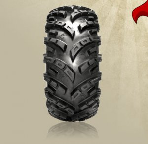 """26"""" GBC SPARTACUS RADIAL TIRE SET 14 INCH  FRONT & REAR"""