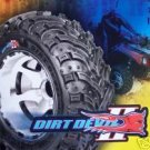 "22"" GBC DIRT DEVIL II TIRE SET (2) 22-8-10"