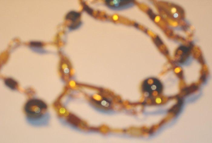 Summer beads bracelet - Earth tones