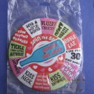 SPIN THE BOTTLE Large pinback Party Button 6""