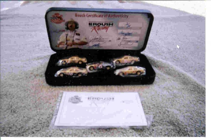 Roush Racing Car set of 5  Limited Edition