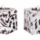Safari Cube Candle Set