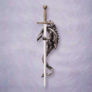 Dragon & Sword Plaque