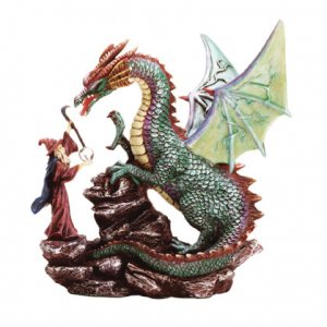 Dragon And Merlin