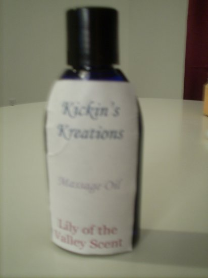 Massage Oil: Lilly Of The Valley