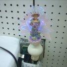 Fiber Optic Girl With Flowers Night Light