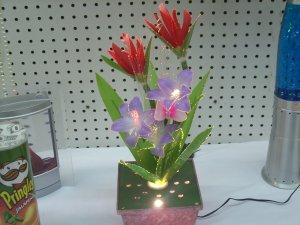 Fiber Optic Flowers